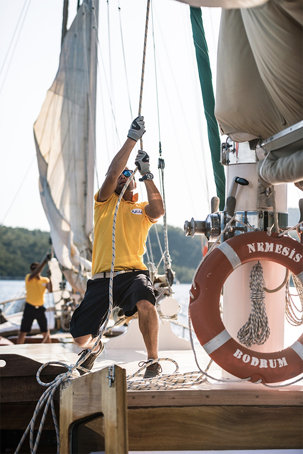 Sailing the Mediterranean